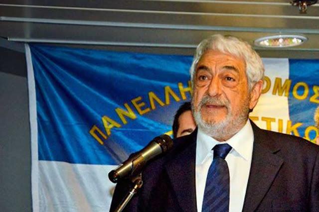 Ευχαριστήρια επιστολή του Πρόεδρου της Πανελλήνιας Ένωσης Κρητικών Σωματείων Εμμ. Πατεράκη προς το Νοσοκομείο Αργολίδας