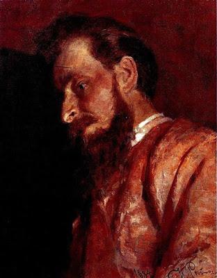 Portrait of V.K. Menk Ilya Repin