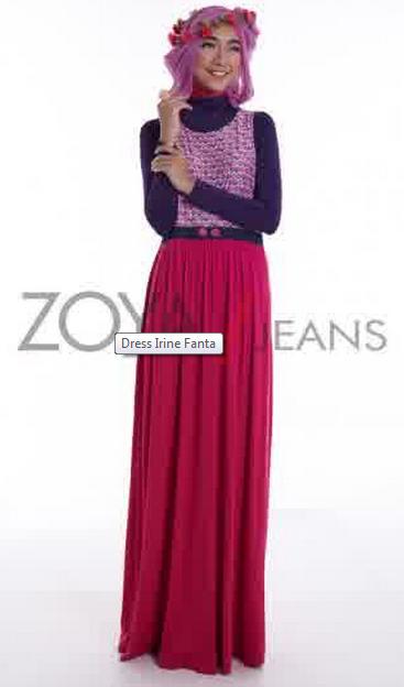 Desain Baju Muslim Zoya Terkini