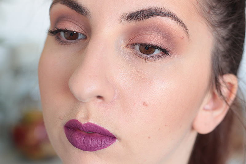 Plum Fall Makeup