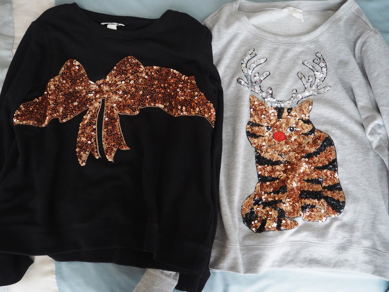H&M Christmas Jumpers: Christmas Day 2015 | Katie Kirk Loves