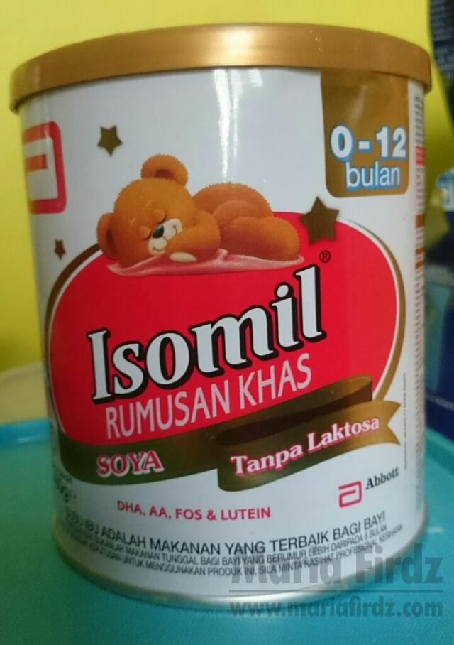 Isomil Plus Susu Alternatif Untuk Bayi Alah Susu Lembu