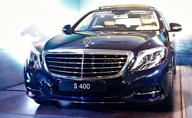 Mercedes Benz S400 Price In India : Launches in india At Rs.1.34 Crore