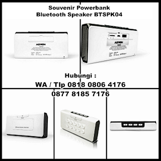Powerbank Asven Bluetooth Speaker 5.200mAh BTSPK04, Power Bank : Power Bank Speaker 5200 mAh BTSPK04, Bluetooth Speaker Tipe BTSPK04, Souvenir Bluetooth Power Bank Speaker dengan harga terjangkau