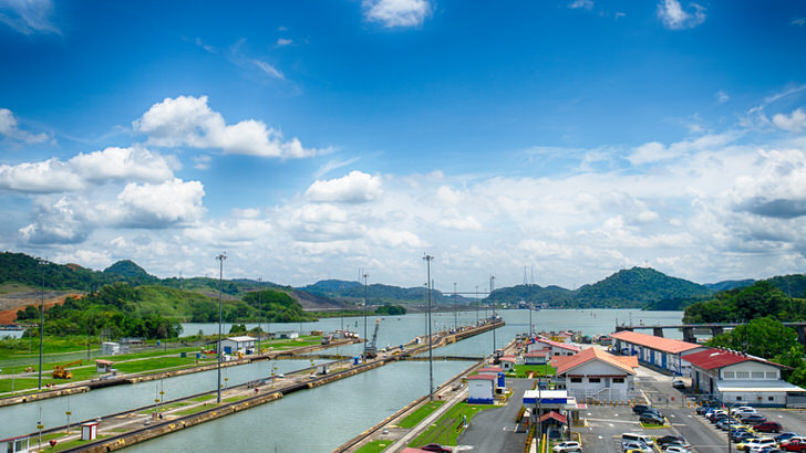The 10 Most Amazing Watery Wonders Around The World - The Panama Canal (Panama)