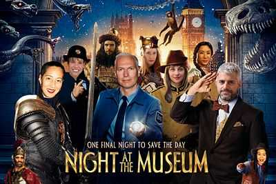 Night at the Museum (2006) Hindi - Tamil - Telugu - Eng Movie Download 400mb