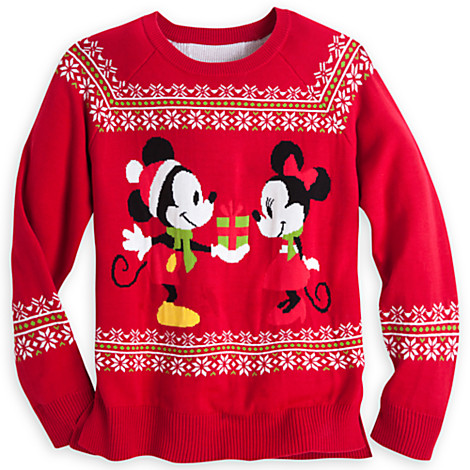 Christmas sweaters — yes, sweaters — from Disney - Disney Diary