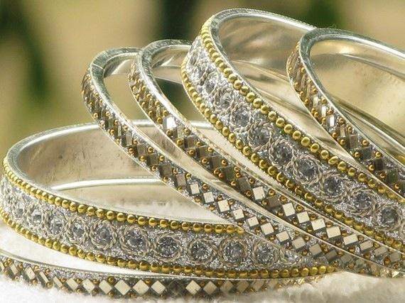 srebrne bransoletki z Indii