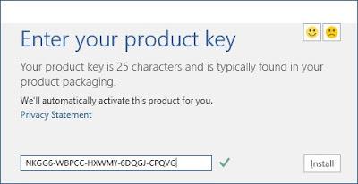 windows 8.1 product key  for 64 bit 2018
