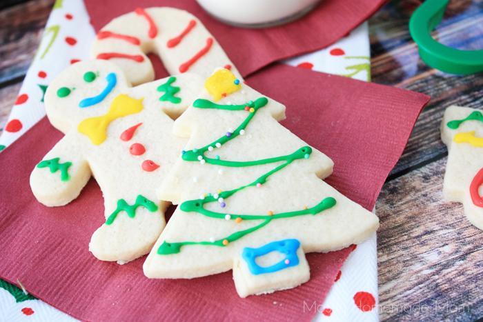 Christmas cutout cookies