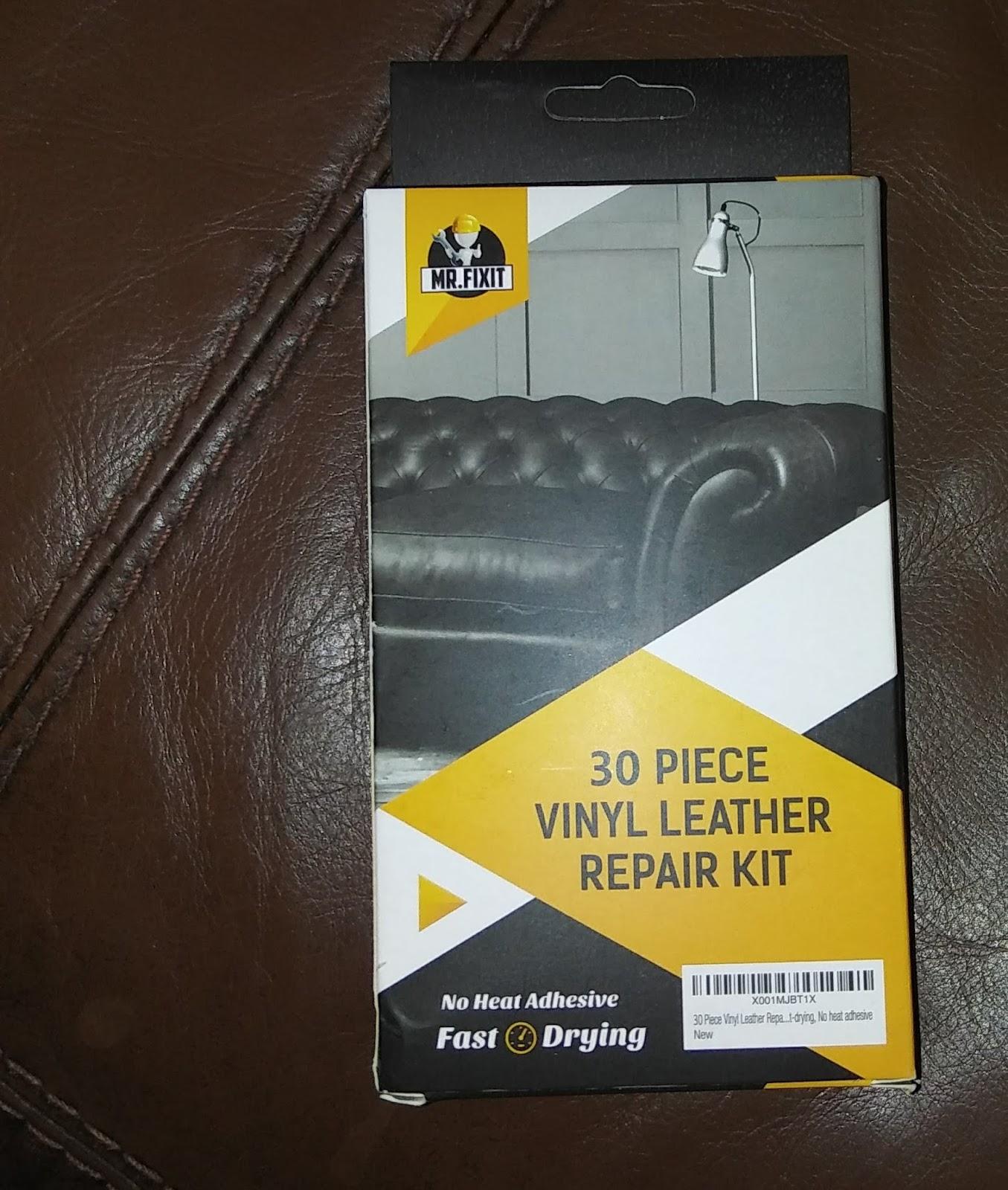 Bonnie Bells Voice: Vinyl Leather Repair Kit 4 car and sofa
