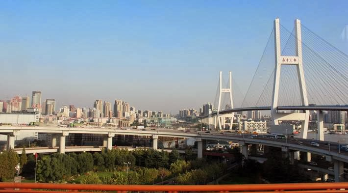 Nanpu Bridge ─ A New Landmark Of Shanghai