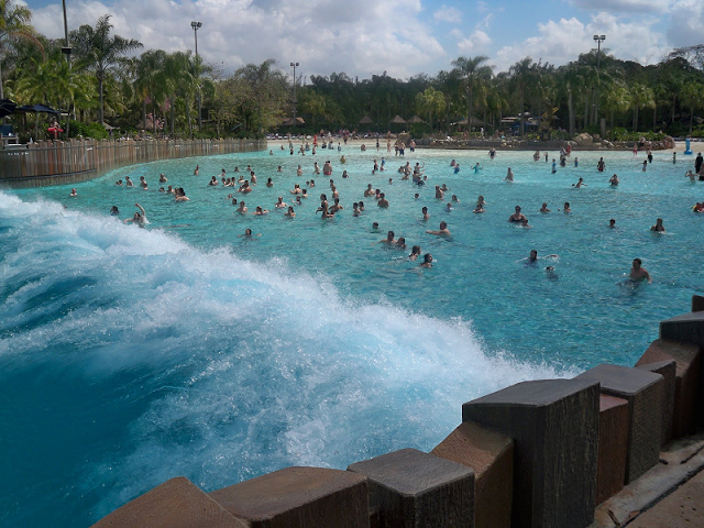 Surf Pool en el Typhoon Lagoon