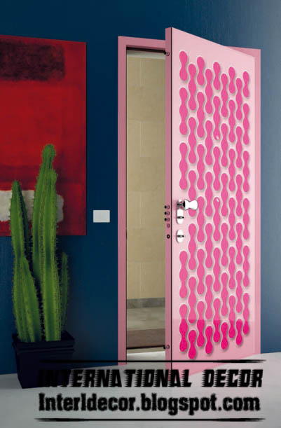 Bright Color Modern Interior Doors Designs 2016 | Home And House