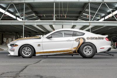 Ford Mustang Cobra Jet 2018 Side