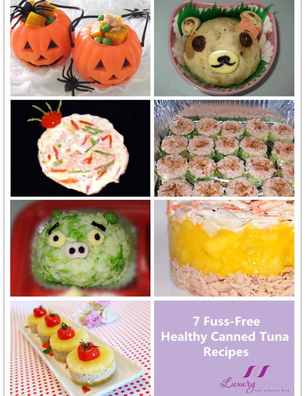 fuss free healthy canned tuna party recipes