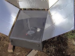 Φτιάχνω ηλιακό φούρνο