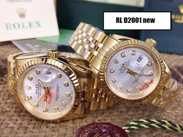 đồng hồ đeo tay rolex rl đ2001