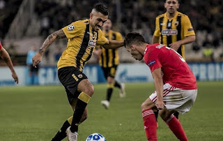 UEFA Champions League: Watch Benfica vs AEK live Stream Today 12/12/2018 online