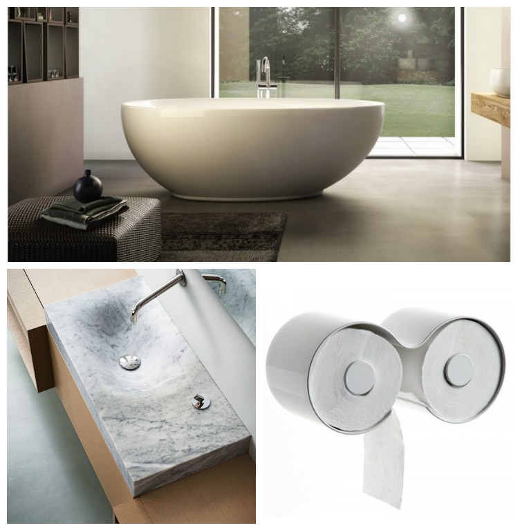 Selection of bathroom furniture