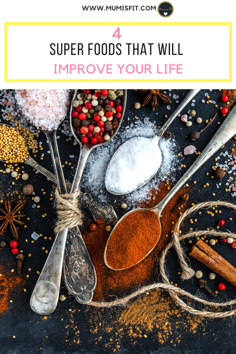 4 Super Foods That Will Improve Your Life - www.mumisfit.com - healthy eating, weight loss tips, food and nutrition, boost your metabolism, super foods, seeds