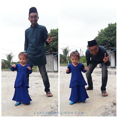 raya 2018, gaya raya, gaya raya 2018, inikanraya, baju raya, kurta haqqi, kurung moden, baju kurung kanak-kanak, irfan hensem, dhia zahra, encik suami