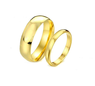 Gold Engagement Rings for Men and Women with Price