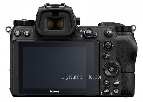 Nikon Z6, вид сзади