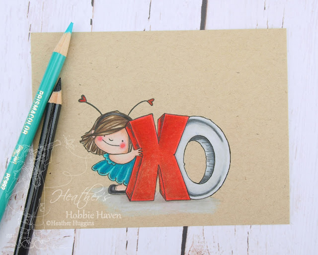 Heather's Hobbie Haven - Colored Pencil Tuesday - XO Squidgy