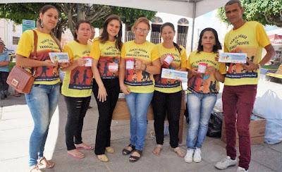 Secretaria de Ação Social de Sairé promove evento para combater trabalho infantil no município
