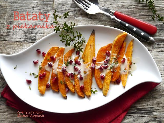 Bataty z piekarnika z sosem tahini - Czytaj więcej »