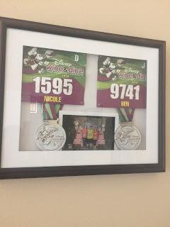 Disney Half Marathon running medals