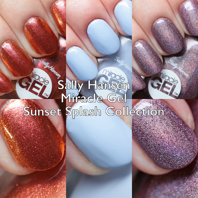 Sally Hansen Miracle Gel Sunset Splash Collection