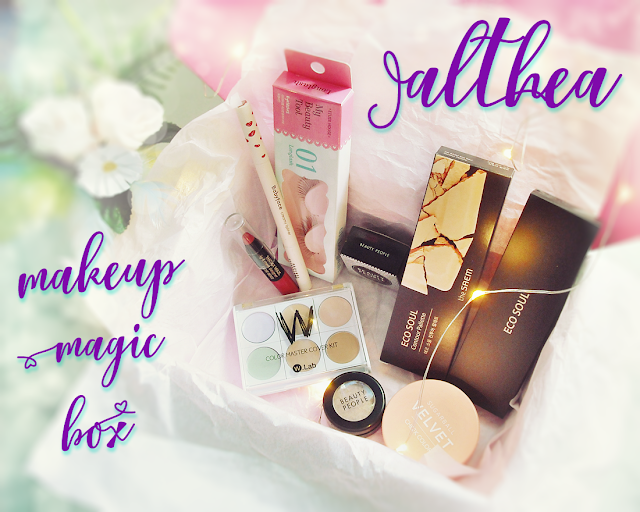 Althea Makeup Magic Box - korean products unboxing review