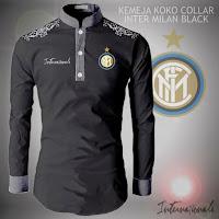 Baju Jas Koko Pria  Collar Inter Milan