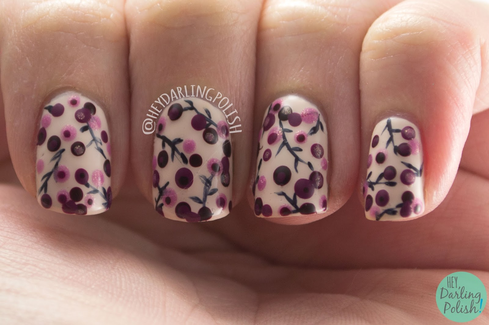 Nail Art Designs With Dotting Tool