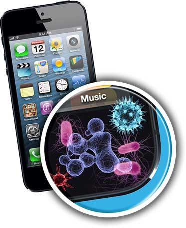 الجراثيم في الهواتف الذكية 7 أضعاف الموجودة في المرحاض