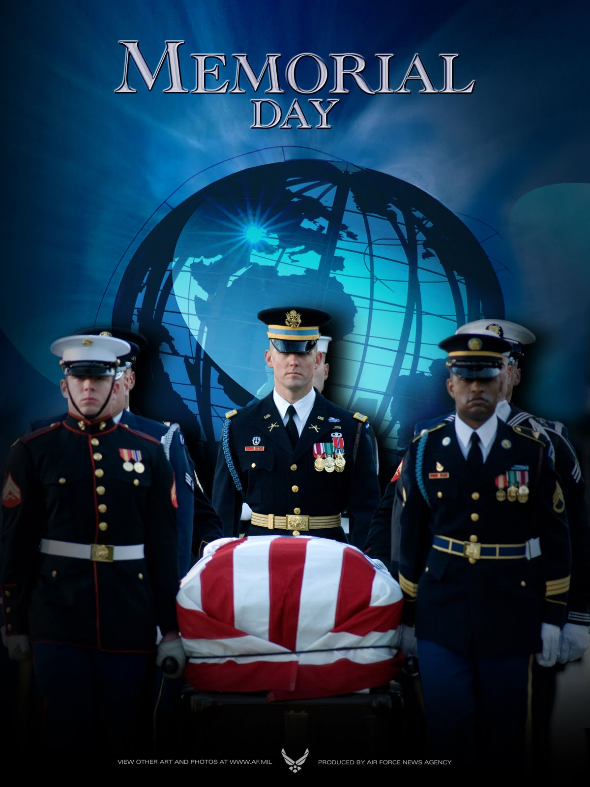 Free memorial day powerpoint backgrounds download for Official air force powerpoint template
