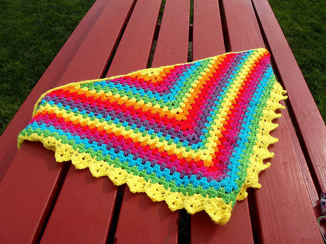 shawl with free download