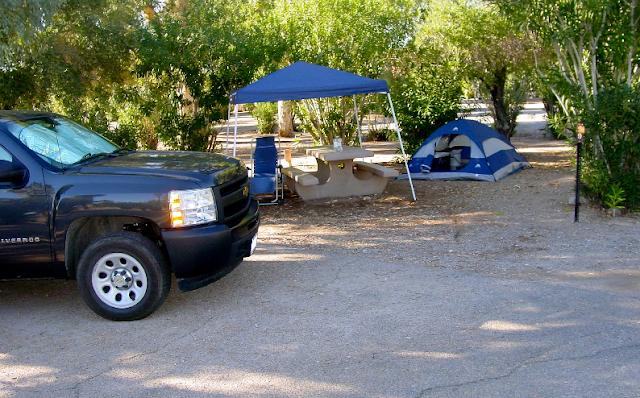Reservas nos campings em Las Vegas