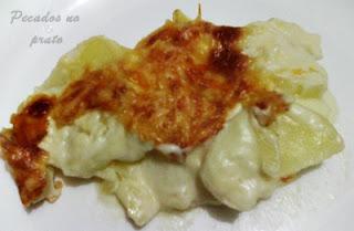 Receita de batatas gratinadas