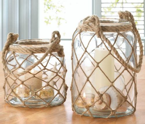 Fisherman Net Candle Lantern