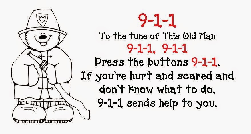 telephone 911 coloring pages - photo#45