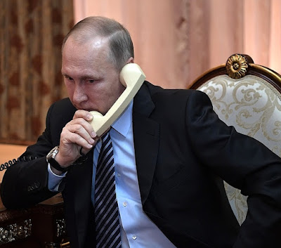 Vladimir Putin telephone call.
