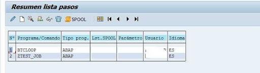 Analizar nombre del programa SAP
