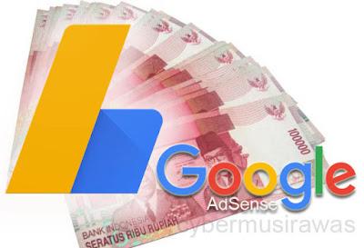 Ciri ciri pendaftaran Google adsense diterima