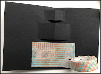 tuto carte anniversaire masking-tape