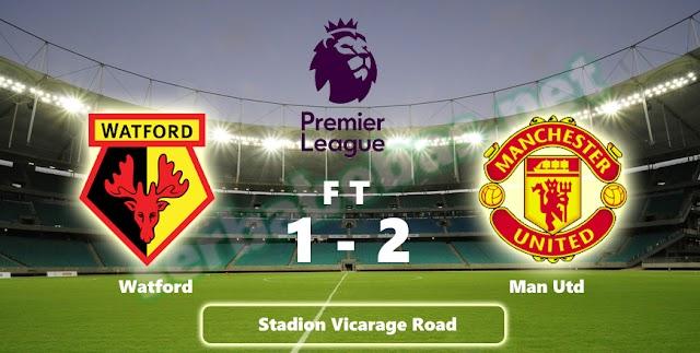Lukaku dan Smalling membawa Manchester United meraih kemenangan 2-1 atas Watford