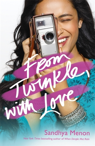 From Twinkle, With Love by Sandhya Menon UK Cover