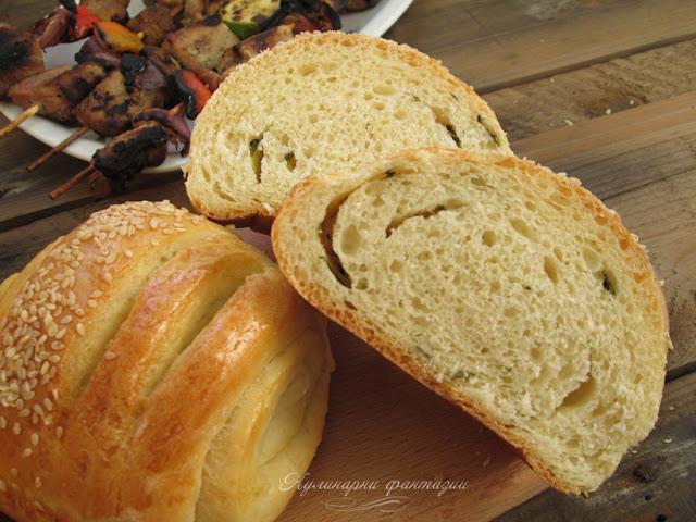Хлебчета с босилек